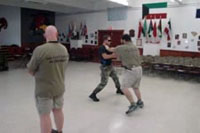 Modern Combatives Systems Training Pictures